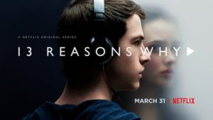 13 reasons why promo poster Teen girls watch netflix | 10 TV shows that will make you wary about giving your kids Netflix | Habyts